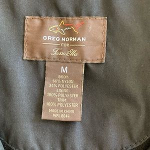 Men's medium Greg Norman golf vest.